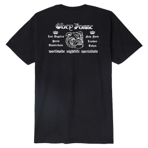 OBEY / OBEY NIGHTLIFE SPECIALISTS BASIC TEE (BLACK)