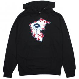 FAMOUS STARS AND STRAPS × MISHKA / ALL SEEING F PULLOVER HOODIE (BLACK)