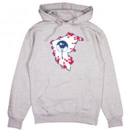 FAMOUS STARS AND STRAPS × MISHKA / ALL SEEING F PULLOVER HOODIE (H.GREY)