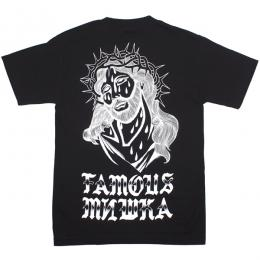 FAMOUS STARS AND STRAPS × MISHKA / MERCY TEE (BLACK)