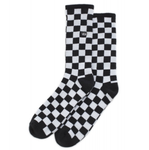 VANS / CHECKERBOARD CREW SOCK (BLACK/WHITE CHECK)