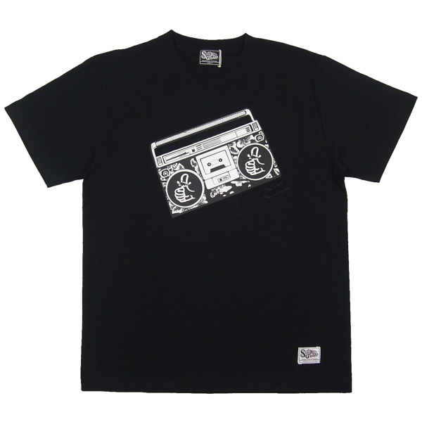 SILLY GOOD / STEREO TEE (BLACK)