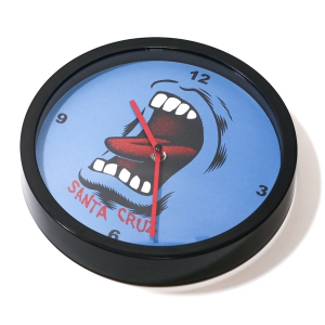 SANTA CRUZ / SCREAMING WALL MOUNT CLOCK