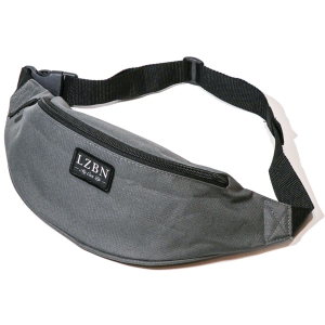 LZBN / REFINE PATCH WAIST BAG (GREY)