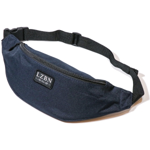 LZBN / REFINE PATCH WAIST BAG (NAVY)