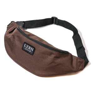 LZBN / REFINE PATCH WAIST BAG (BROWN)