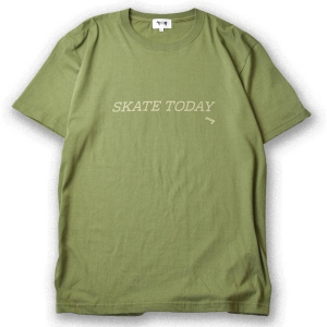 MINOS / SKATE TODAY TEE (CITY GREEN)