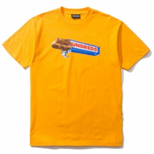 THE HUNDREDS / CANDY BAR TEE (GOLD)