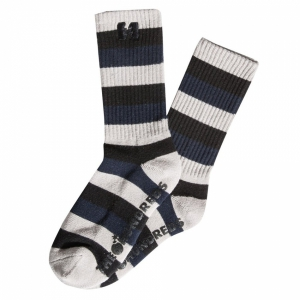THE HUNDREDS / ZYME CREW SOCK (LIGHT GREY)