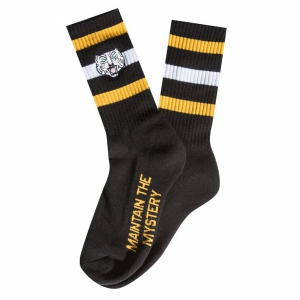 THE HUNDREDS / TIGER CREW SOCK (BLACK)