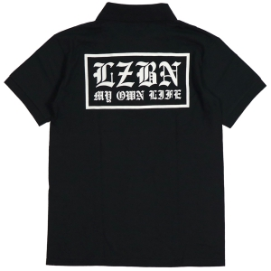 LZBN / OE POLO SHIRT (BLACK)
