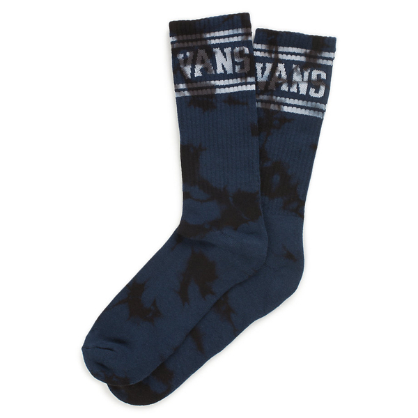 VANS / CLASSIC STRIPE CREW SOCK (DRESS BLUES)