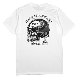 OBEY / FEAR OF A BLACK PLANET TEE (WHITE)