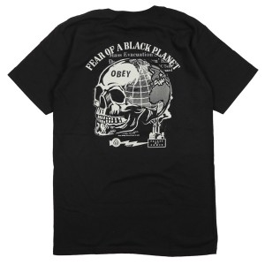OBEY / FEAR OF A BLACK PLANET TEE (BLACK)