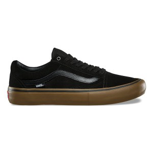 VANS / OLD SKOOL PRO (BLACK/GUM/GUM)