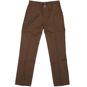 BRIXTON / FLEET RIGID CHINO PANT (BROWN)