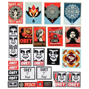 OBEY / STICKER PACK 5 (ASSORTED)