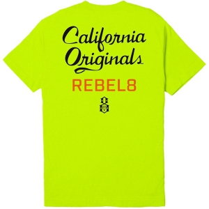 REBEL8 / LACQUER TEE (SAFETY GREEN)