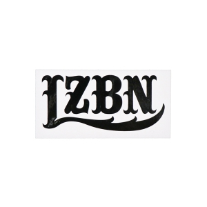 LZBN / LZBN LOGO DIE CUT STICKER S (BLACK)