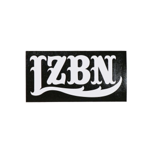 LZBN / LZBN LOGO DIE CUT STICKER S (WHITE)