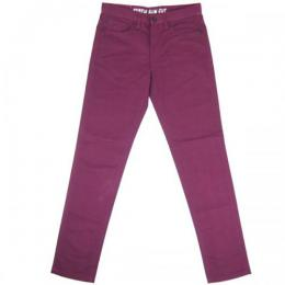 REBEL8 / SLIM CUT PANTS (BURGUNDY)