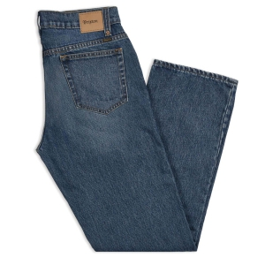 BRIXTON / LABOR 5-POCKET DENIM PANT (WORN INDIGO)