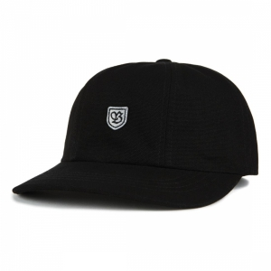BRIXTON / B-SHIELD III CAP (BLACK/GREY)