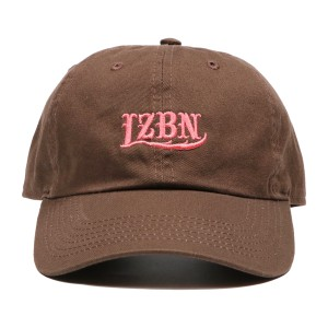 LZBN / EMB LOGO 6-PANEL CAP (BROWN)