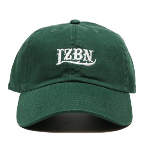 LZBN / EMB LOGO 6-PANEL CAP (DARK GREEN)