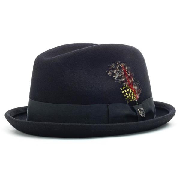 BRIXTON / GAIN FEDORA (BLACK)