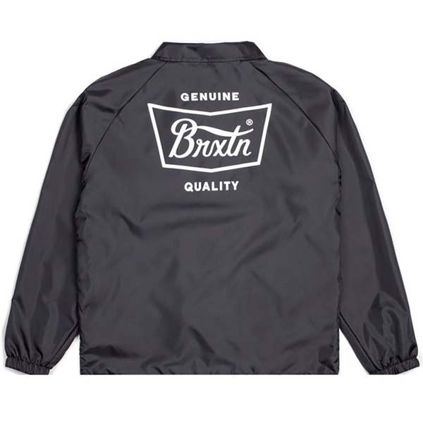 BRIXTON / STITH JACKET (BLACK/WHITE)