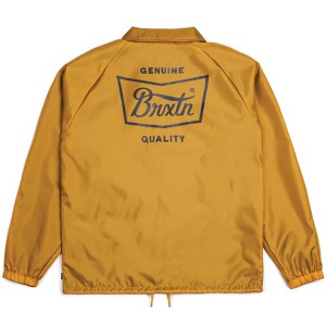 BRIXTON / STITH JACKET (MUSTARD/NAVY)