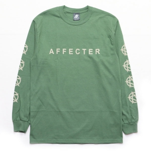 AFFECTER / CLASSIC BEFORE L/S TEE (M.GREEN)