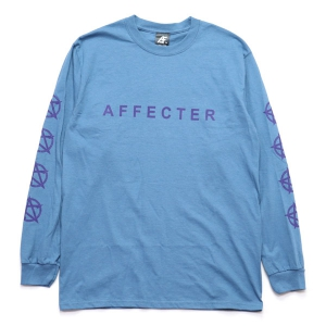 AFFECTER / CLASSIC BEFORE L/S TEE (INDIGO)