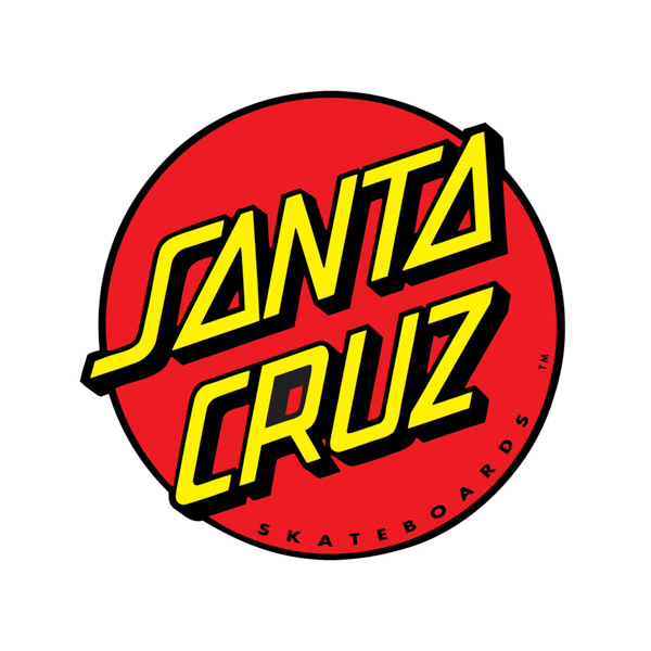 SANTA CRUZ / CLASSIC DOT STICKER 3""