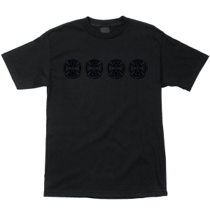 INDEPENDENT / TONE CROSS TEE (BLACK)