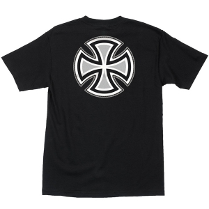 INDEPENDENT / REBAR CROSS TEE (BLACK)