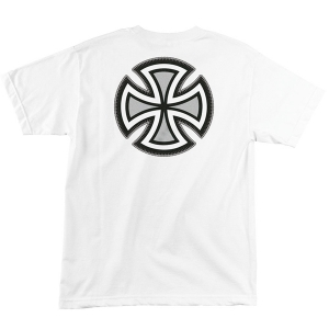 INDEPENDENT / REBAR CROSS TEE (WHITE)