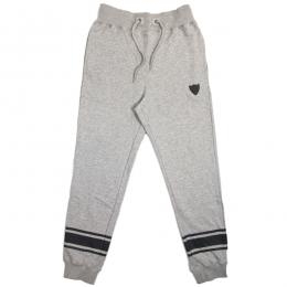 CLOUD13 / LINE SWEAT PANTS (MIX GRAY)