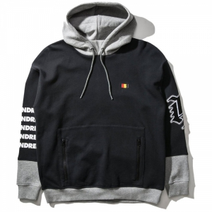 THE HUNDREDS / GLOOM PULLOVER HOODIE (BLACK)