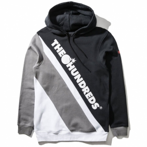 THE HUNDREDS / SLOPE PULLOVER HOODIE (BLACK)