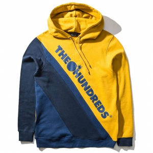 THE HUNDREDS / SLOPE PULLOVER HOODIE (MUSTARD)