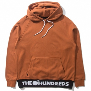 THE HUNDREDS / THEORY PULLOVER HOODIE (COPPER)
