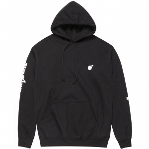 THE HUNDREDS / FOREVER SOLID BOMB CREST PULLOVER HOODIE (BLACK)