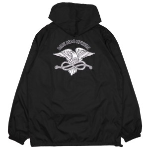 DARK SEAS / TRUSTED ANORAK JACKET (BLACK)