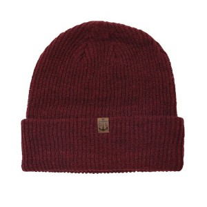 DARK SEAS / KNIGHTSHEAD BEANIE (BRICK RED)