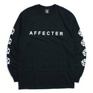 AFFECTER / CLASSIC BEFORE L/S TEE (BLACK)