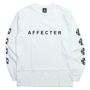 AFFECTER / CLASSIC BEFORE L/S TEE (WHITE)