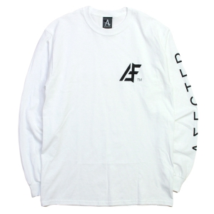 AFFECTER / AFF TM L/S TEE (WHITE)