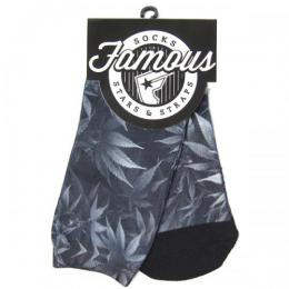 FAMOUS STARS AND STRAPS / HARB SOCKS (BLACK)